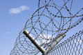 Barbwire Roll 2 Royalty Free Stock Photo