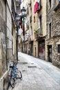 Barcelona Barri Gotic Royalty Free Stock Photo