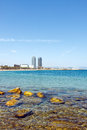 Barcelona beach Royalty Free Stock Photography