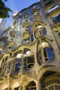 Barcelona - casa Batllo from Gaudi Stock Photography