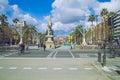 Barcelona city center, Spain.