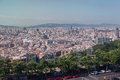 Barcelona city the of with its historical buildings catalunia spain Stock Images