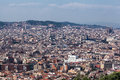 Barcelona city the of with its historical buildings catalunia spain Stock Photos