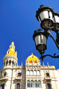 Barcelona fragment. Royalty Free Stock Photo