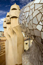 Barcelona Gaudi  Royalty Free Stock Photo