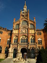 Barcelona,Hospital Sant Pau 12 Royalty Free Stock Images