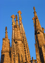 Barcelona La Sagrada Familia Stock Images