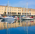 Barcelona marina Stock Photography