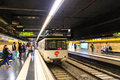 Barcelona metro Royalty Free Stock Photo
