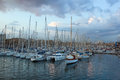 Barcelona port Royalty Free Stock Photos