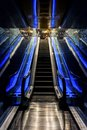 stock image of  Barcelona Spain, aquarium escalator, Aquarium