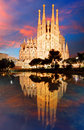 BARCELONA, SPAIN - FEBRUARY 10, 2016: Sagrada Familia basilica i