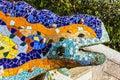 Barcelona, Spain. Lizard Mosai...