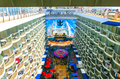 Barcelona, Spaine - September, 6 2015: Royal Caribbean, Allure of the Seas