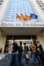 Barcelona Stock Exchange Royalty Free Stock Photo