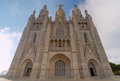 Barcelona. Temple of the holy heart of Jesus.