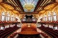 Barcelona Theater Symmetry Royalty Free Stock Photo