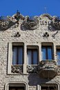 Barcelona traditional architecture (Spain) Royalty Free Stock Photography