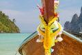 Barco em phuket tailândia Imagem de Stock