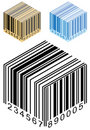 Barcode Box Stock Image