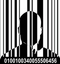 Barcode And Man 5 Royalty Free Stock Photos