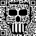 Barcode Skull Royalty Free Stock Photo
