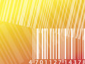 Barcode stripe background Stock Photo