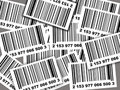Barcodes background Royalty Free Stock Image