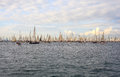 Barcolana regatta, Trieste Stock Photos