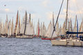 Barcolana regatta, Trieste Royalty Free Stock Photography
