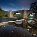 Barden Bridge Stock Image