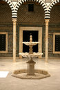 Bardo museum fountain Royalty Free Stock Photos