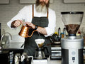 Barista Prepare Coffee Working Order Concept Royalty Free Stock Photo