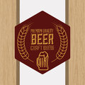 Barley design concept and wheat vector illustration Royalty Free Stock Photography