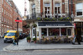 Barley mow mayfair london uk th march the outside of the in central london during the day Royalty Free Stock Photos