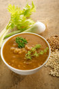 Barley soup Royalty Free Stock Photography