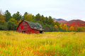 A Barn In The Colors Of Fall