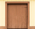 Barn door rustic wooden closed Stock Photos