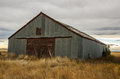 Barn with Metal Siding Royalty Free Stock Photo