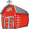 Barn Vector Illustration Stock Photo