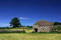 Barn in the Yorkshire Dales, England Royalty Free Stock Photo