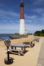 Barnegat light lighthouse new jersey Royalty Free Stock Images