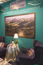 Barolo stand at Bit 2015, international tourism exchange in Milan, Italy Royalty Free Stock Photo