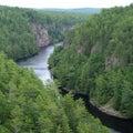 Baron Canyon, Ontario Stock Photography