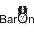 Baron logo illustration Royalty Free Stock Image
