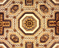 Baroque architectonic detail ornaments on the ceiling in st peter s cathedral in rome Stock Image