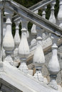 Baroque balustrade Royalty Free Stock Photos