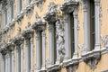 Baroque building facade Stock Photo