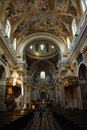 Baroque cathedral Royalty Free Stock Photo