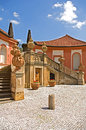 Baroque chateau Troja Royalty Free Stock Photo